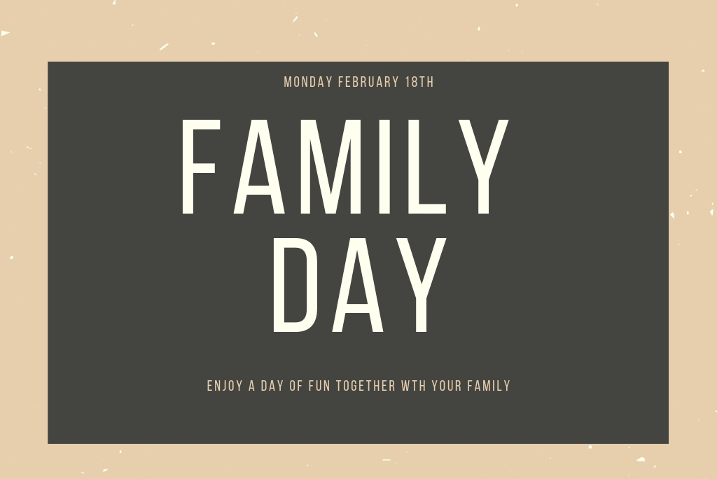 Fun Activities on Family Day!!
